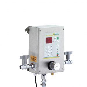 Aquamix 21: Halbautomatisches Wassermischgerät und Dosiergerät mit manuellem Vorlauf der Langheinz Kältetechnik GmbH