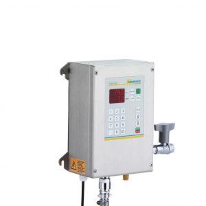 Aquamix 11: Elektronisches Wasserdosiergerät und Wassermischgerät mit Temperaturanzeige der Langheinz Kältetechnik GmbH