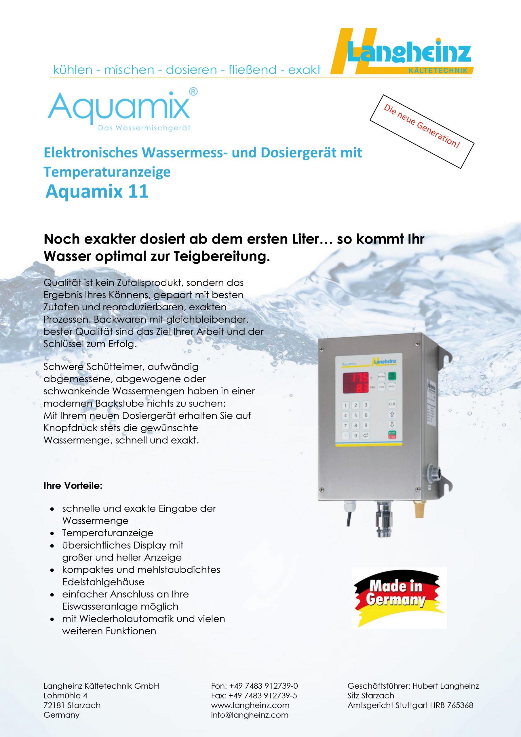 Datenblatt Aquamix 11 (Preview)