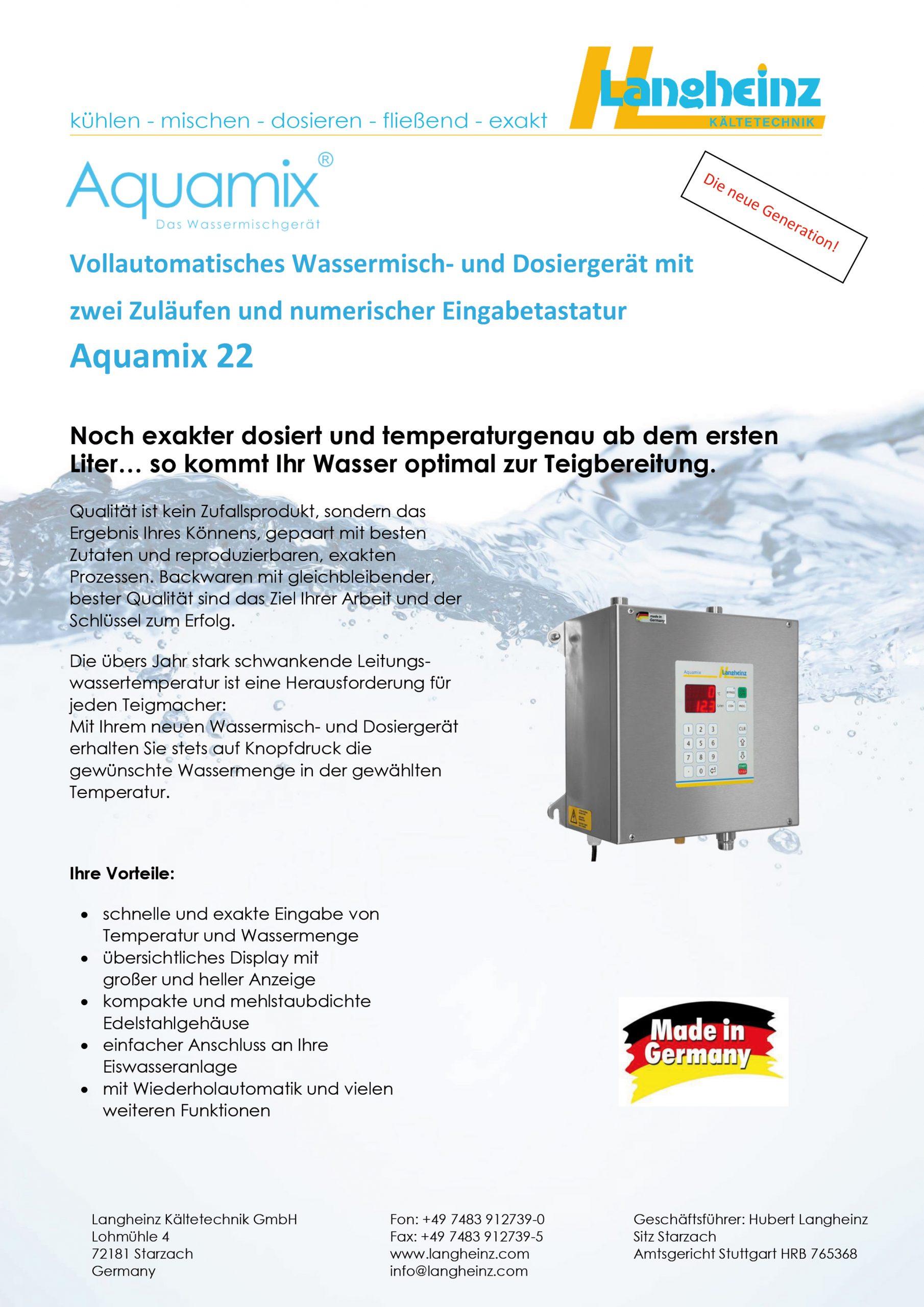 Datenblatt Aquamix 22 (Preview)