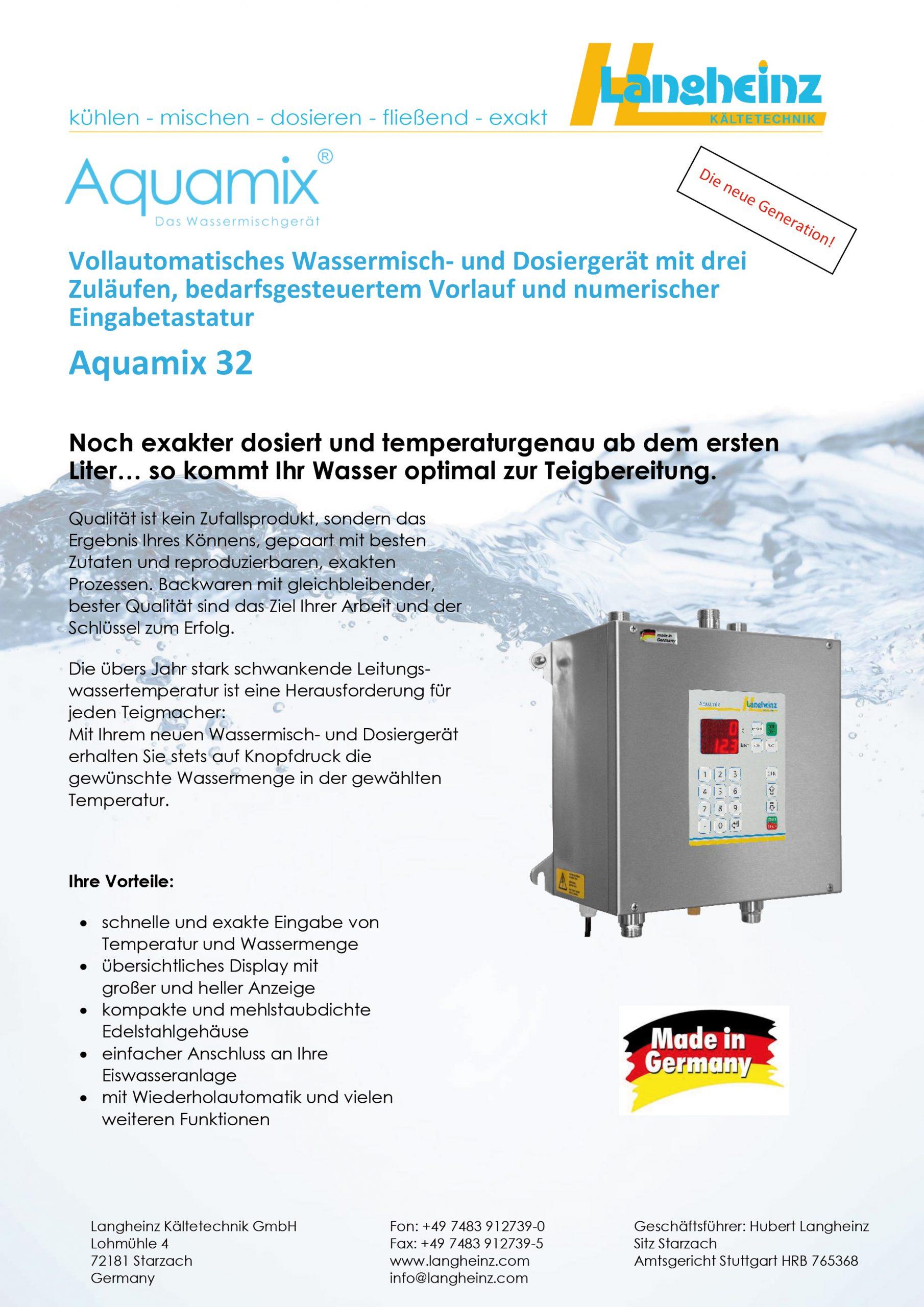 Datenblatt Aquamix 32 (Preview)
